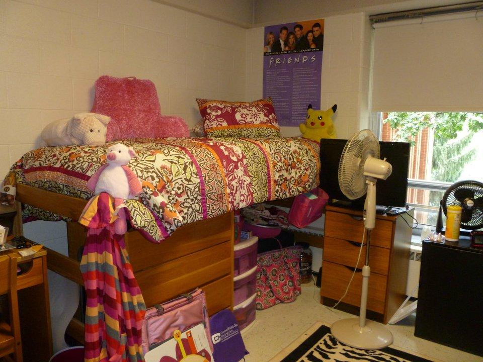 Jmu Hillside Dorm Room