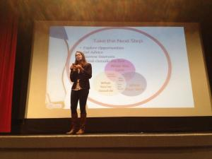 Katie Stolp discussing how and why to get an internship!