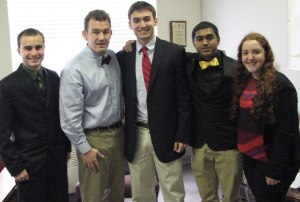 JMU Students lobbying with Chap Petersen http://on.fb.me/11UnrOV